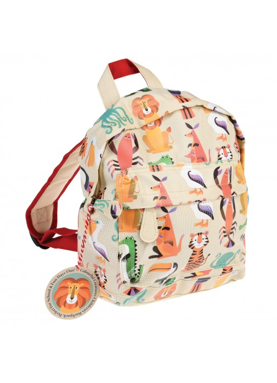COLOURFUL CREATURES MINI BACKPACK | REX LONDON
