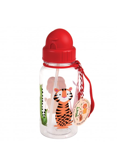 COLOURFUL CREATURES WATER BOTTLE | REX LONDON