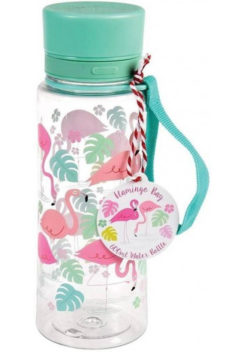 FLAMINGO BAY WATER BOTTLE | REX LONDON