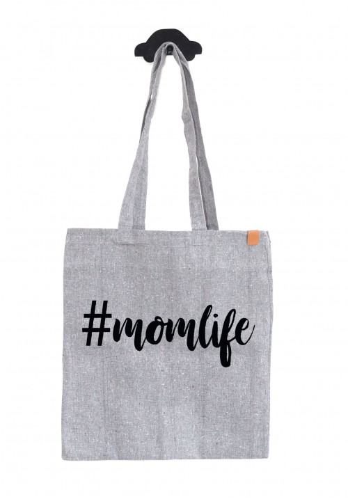 #Momlife Eco Tote Bag